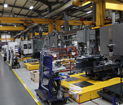 New Flow Line for Machining Centre Production